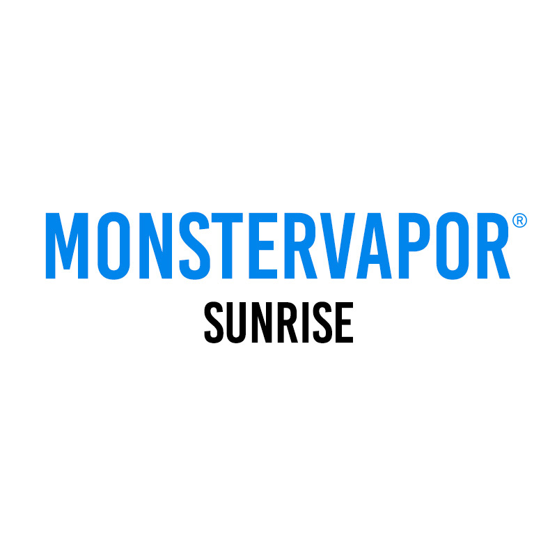 Жидкость Monster Vapor, 50 мл, Sunrise, 0 мг/мл